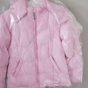 Athletic works pink jacket
